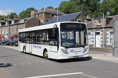 Borders Buses 11713 Stirling Street Galashiels 2 Jul 17