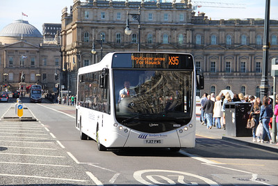 Borders Buses 11702 North Gate Edinburgh Jul 17