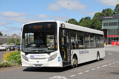 Borders Buses 11710 Stirling Street Galashiels Jul 17