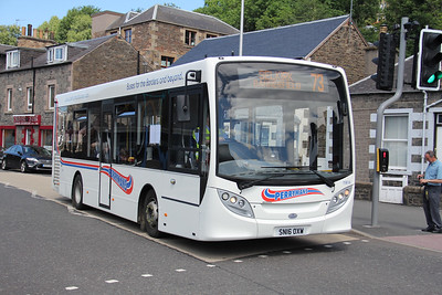 Borders Buses 11614 Stirling Street Galashiels 2 Jul 17