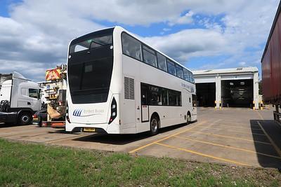 11619 YN66 BBV at Scania Newbridge