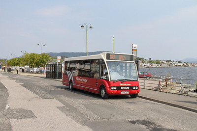 3004 back at the ferry terminal