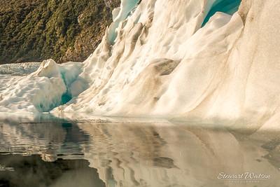 Fox Glacier icy pool