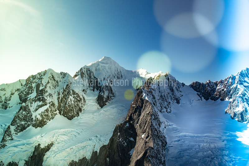 Southern alps bokeh