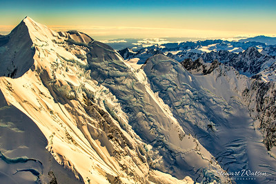 The slopes of the Southern Alps