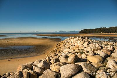 Able Tasman National Park Rock wall