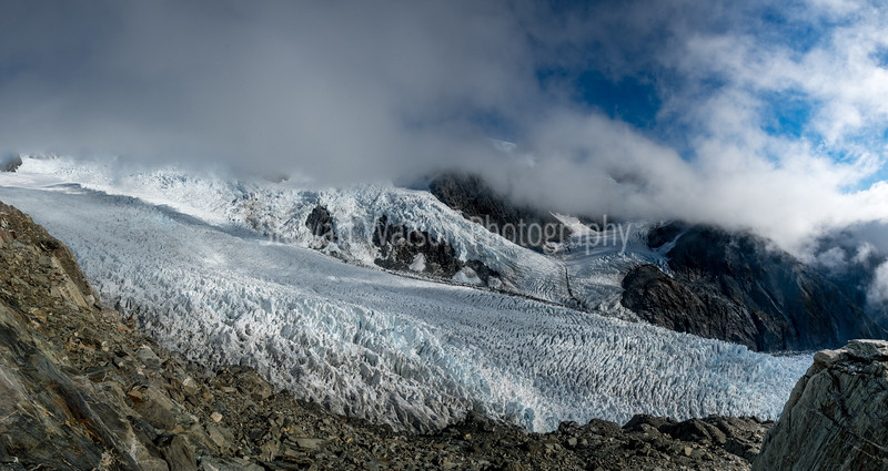 Weather closing on on the fox glacier