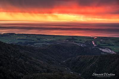 Denniston Coal mind sunset