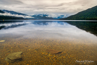 Lake Kaniere clear waters