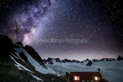 Astro display on the Glacier