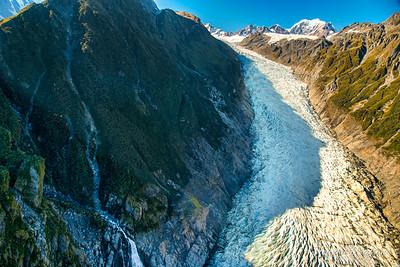 Magnificent  frozen Glacier
