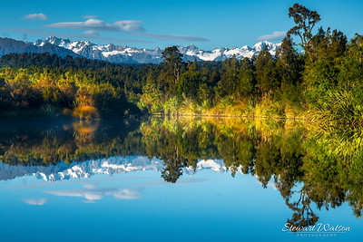 Reflections on the lagoon