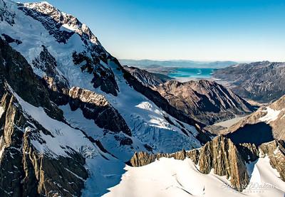 Mt Tasman view of Lake Pukaki