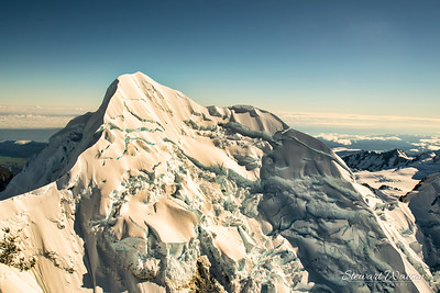 Amongst the tallest peaks of the Southern Alps of New Zealand