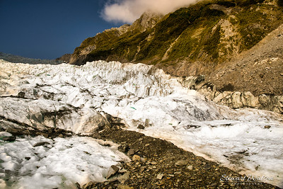 Glacier in the Southern Alps
