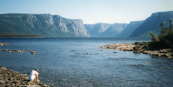 Gros Morne, Western Brook Pond, 1998