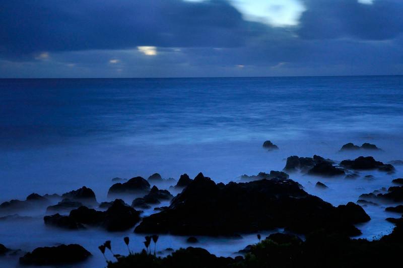 California coast at night - Cambria