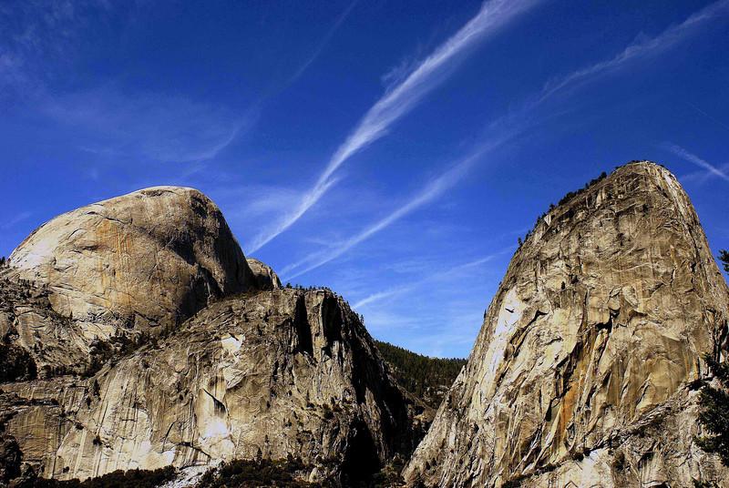Half Dome and North Dome, Yosemite