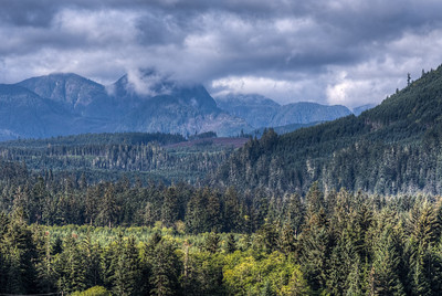 Rolling Mountains - Vancouver Island, British Columbia, Canada