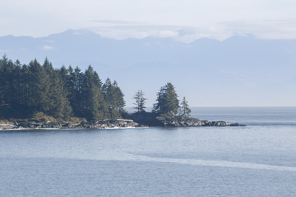 West Coast Seascape - Fossil Bay, Vancouver Island, British Columbia, Canada