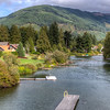 The Cowichan River - Cowichan Valley, Vancouver Island, BC, Canada
