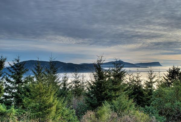 Atop Mount Prevost - Duncan, BC, Canada