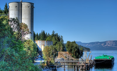 "Bamberton Cement Factory - Bamberton, BC, Canada Visit our blog ""The Toad In Cement Shoes"" for the story behind the photos."