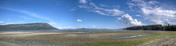 Coast Panorama - Vancouver Island, BC, Canada
