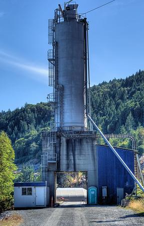 Bamberton Cement Factory - Bamberton, BC, Canada