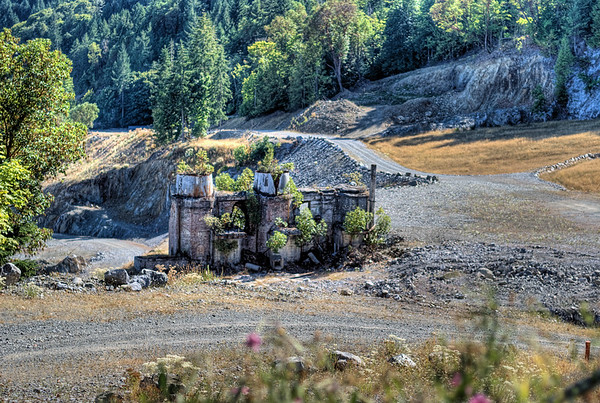 Abandoned Cement Factory - Bamberton, BC, Canada