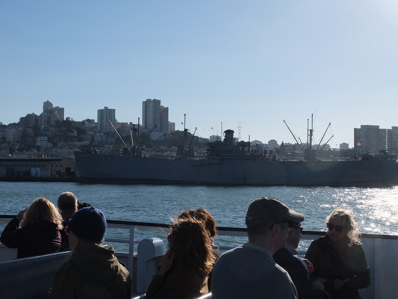 Liberty Ship SS Jeremiah O'Brien_San Francisco. Still sails occasionally under own steam. Was at D-Day, prior to that several Atlantic convoy passages, then to the Pacific theatre.