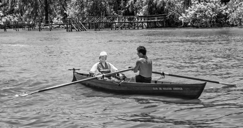 Tigre -  Row Your Boat 2 B&W-1