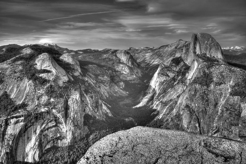 G;acoer Point Half Dome B&W 4-
