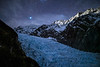 Moonlit Fox Glacier