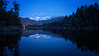 Lake Matheson Blue Hour