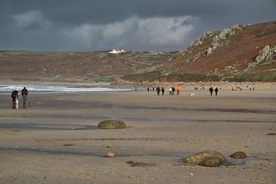 Beachwalkers at Sennen