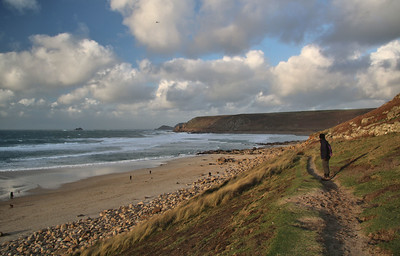 Aire Point, with Cape Cornwall behind