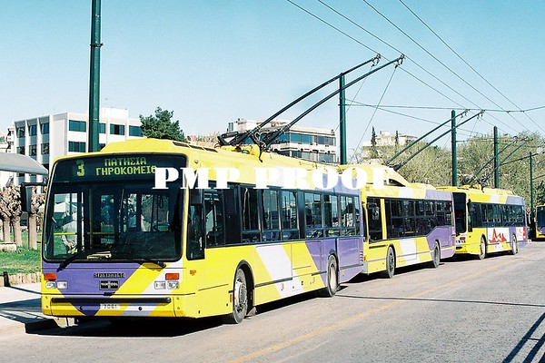 Greek Buses and Trolleybus