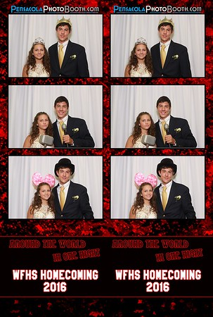 West Florida High School Homecoming 9-10-2016