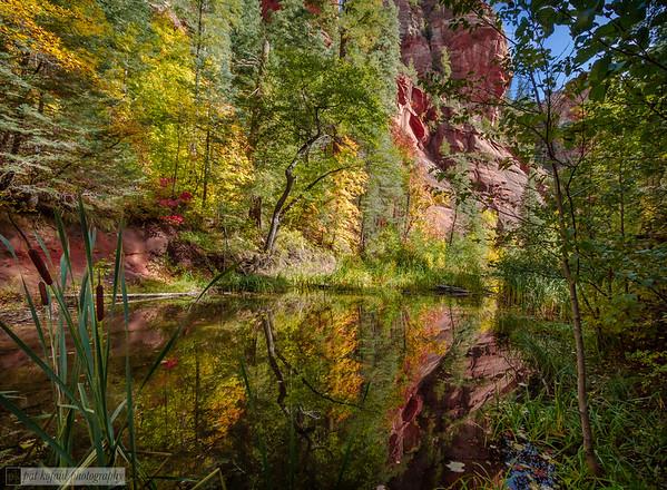 Oak Creek Reflections – Sedona