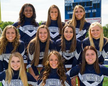WGHS Cheerleaders Seniors 2