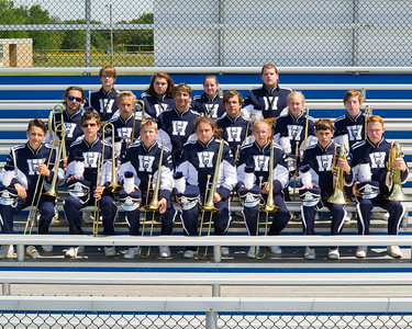 WGHS Band Low Brass