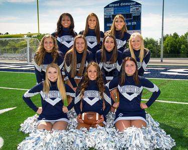 WGHS Cheerleaders Seniors