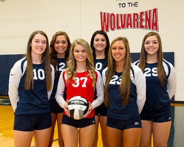 WGHS Volleyball Letter Winners