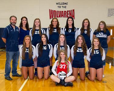WGHS Volleyball Varsity