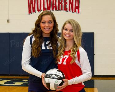 WGHS Volleyball Seniors