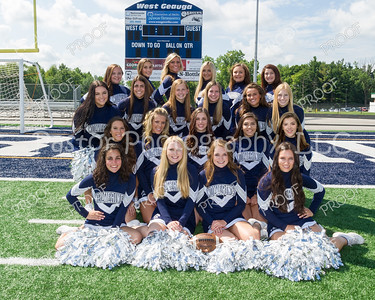 Cheer Varsity Team