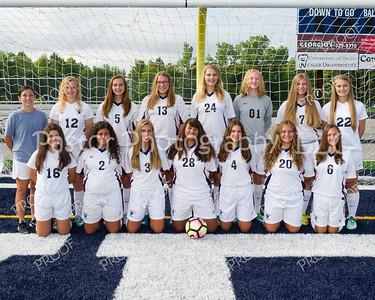 Girls Soccer JV Team
