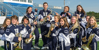 wGHS Marching Band Sax Fun