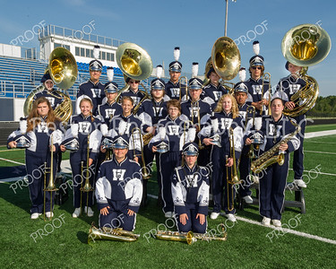 WGHS Marching Band Low Brass